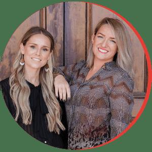 Katie Conliffe and Jenni Bourque headshot